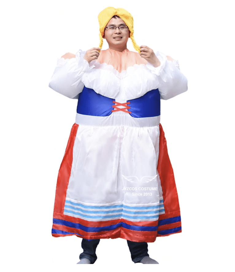 10 bizarních Halloweenských kostýmů, které najdete jen na Aliexpressu
