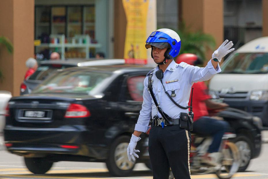 Dopravní Policie Malajsie