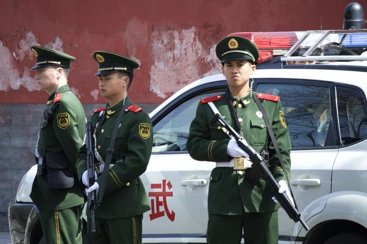 čínská voják