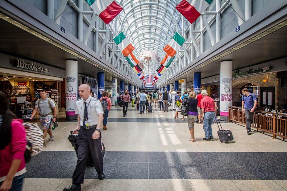 Letiště Chicago O'Hare - Wikimedia Commons